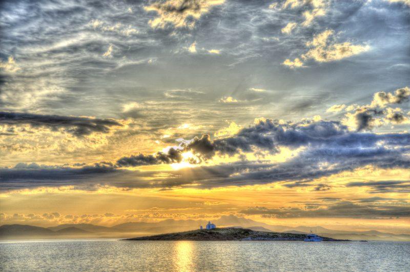 2014-J-2-Sun rise at Athens, Greece