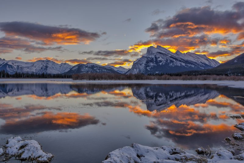 Banff Morning Glory by Charles Tam