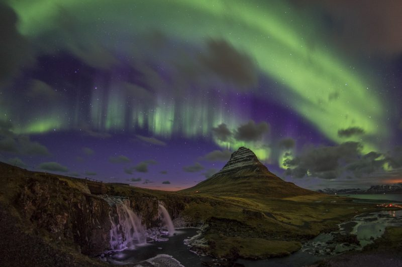 2017 June Competition Senior Division 1st place: Northern Light in Iceland by Lily Kwok