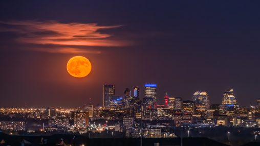 """3rd Place, """"Supermoon"""" by Stella Lam"""